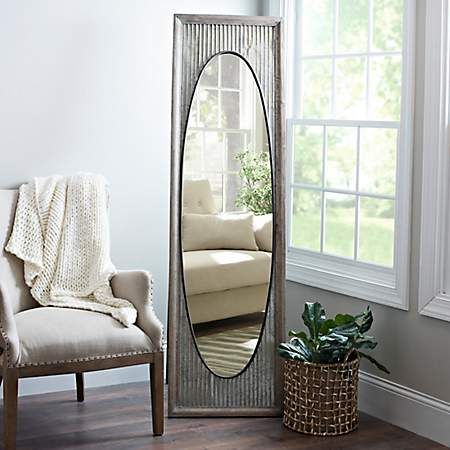 Galvanized Oval Cheval Mirror House Styles Cheval Mirror New Room
