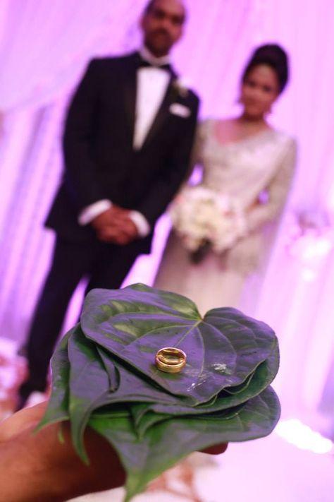 Sri Lankan Wedding - Ring Ceremony