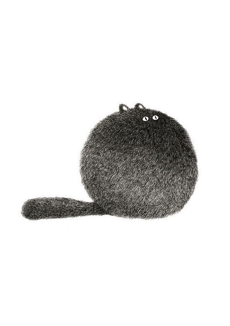 The Furry Thing Series Kitty No.3 by boandfriends on Etsy