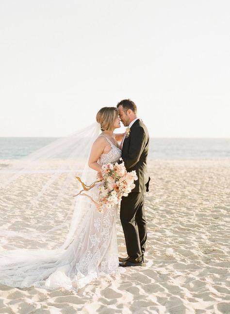 Beach wedding photoshoot #summerwedding #weddinginspo #neutralwedding