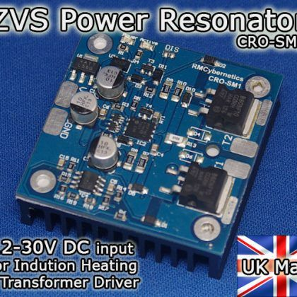 Ultra Compact Induction Heater Circuit
