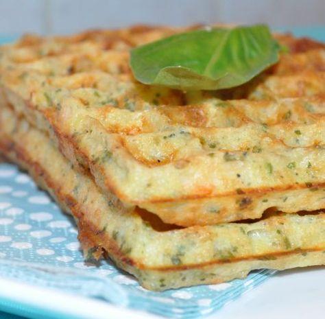 Gaufres de pommes de terre au saumon fumé   Les Recettes de la Cuisine de Asmaa