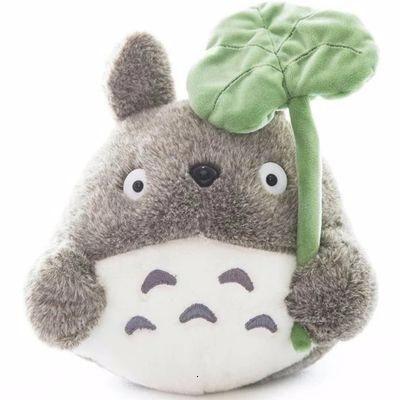 Hot Totoro Soft Stuffed Animal Cushion My Neighbor Totoro Plush Doll Toy Pillow  For Kid Baby Birthday Christmas Gift 6/8/20cm - E