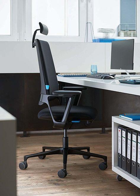 Bureaustoel Met Neksteun.Klober Connex2 Bureaustoel Met Hoofdsteun Bureaustoel