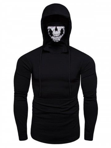 promo code 49e65 ef1f2 Autumn Men's Face Mask Hoodies | Fashion in 2019 | Hoodies ...