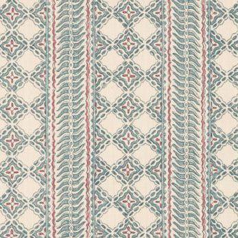 Lisa Fine Textiles Malabar Reverse In Nordic Blue 1 Fabric Master Bedroom Wallpaper Textiles