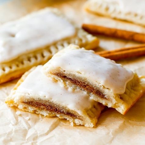 If you like pop-tarts, you will love my Homemade Frosted Brown Sugar Cinnamon Pop-Tarts. 100% from scratch!