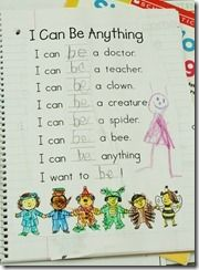 Sight Word Poetry