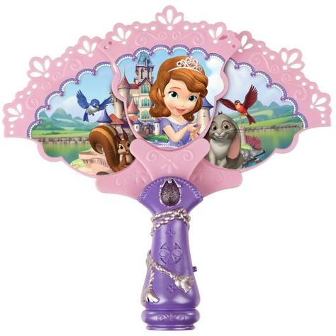 """Sofia the First Royal Musical Fan - Creative Designs - Toys""""R""""Us Toy Cars For Kids, Toys For Girls, Kids Toys, Girl Dolls, Barbie Dolls, Minnie Mouse Toys, Hello Kitty Coloring, Princess Toys, Baby Alive Dolls"""