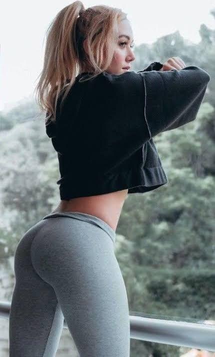 Geile ärsche in leggings