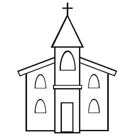Desenho Para Colorir Igreja Imagem De Igreja Igreja Desenhos