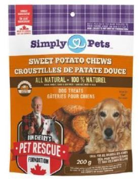 Sweet Potato Chews Proudly Made In Canada And Supporting Don