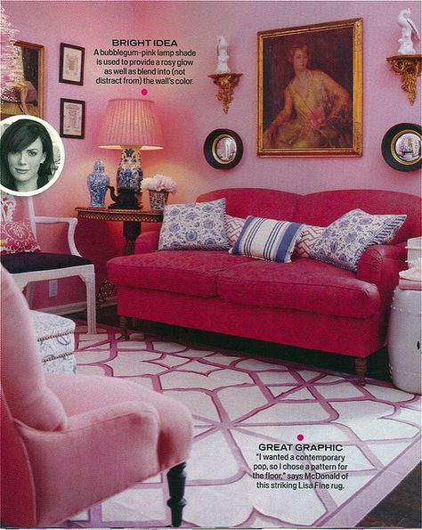 Mary McDonald.  For those who like pink.