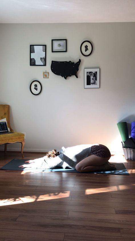 Lots of wiggles and chest openers in this slow morning yoga flow. There's nothing better than using small movements to help wake your body up and get ready for your day. Try out this gentle morning yoga video to get your day going!