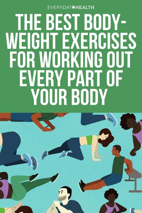 No equipment? No problem. You can still get a full-body workout using just your own weight as resistance.
