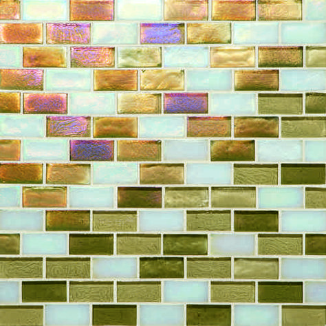Vogue Tile 2 x 12 Pack of 3 Pieces Courant Geometric Resin Liner Border Wall Tile Bronze