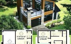 Modern Canada House Design With Duplex House Plans 25 X 40 And Modern House Front Door Colors Modern Cabin House Front Design House Designs Exterior