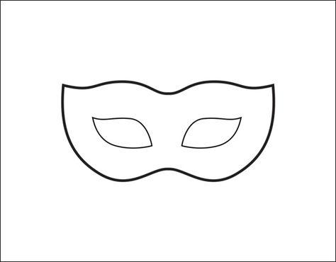 Venezianische Maske Vorlage Venezianische masken Masken