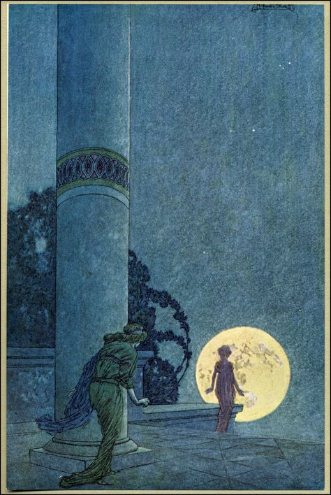 """""""""""The flying islands of the night"""" Franklin Booth (July 1874 – August was an American artist known for his detailed pen-and-ink illustrations. Art And Illustration, Ink Illustrations, Fantasy Kunst, Fantasy Art, Franklin Booth, Harry Clarke, Charles Perrault, Ghost In The Machine, Edmund Dulac"""