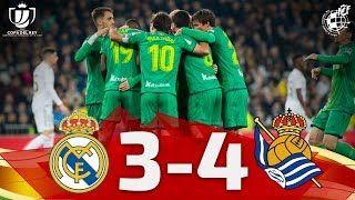 Copa Del Rey Cuartos De Final Real Madrid Cf 3 4 Real Sociedad Rfef Realfederacionespanolafutbol Futbolespanol Football F En 2020 Futbol Espanol Real Madrid
