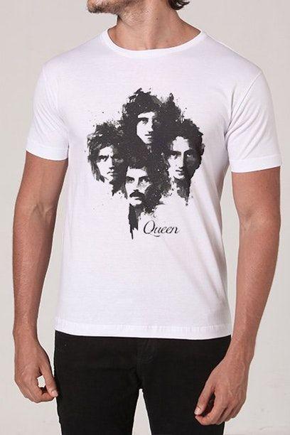 Camiseta Queen Chico Rei Queen Chico Rei E Maiores Bandas De Rock