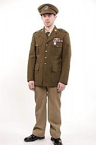 World War II Style Army Dress Uniform