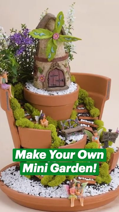 Make Your Own Mini Garden!