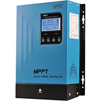 60a Mppt Solar Charge Controller 60amp Panel Battery Charger Controller 48v 36v 24v 12v Auto Max 150vdc Input Mppt Charge Con Solar Solar Power Lithium Battery