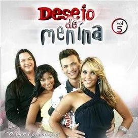 O Ritmo Do Nordeste Banda Desejo De Menina Menina Cantores