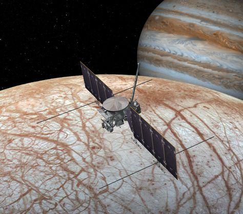 NASA will host a teleconference at 2 p.m. EDT Monday, Sept. 26th 2016 to present new findings from images captured by the agency's #Hubble Space Telescope of Jupiter's icy moon, #Europa. 9/20/2016