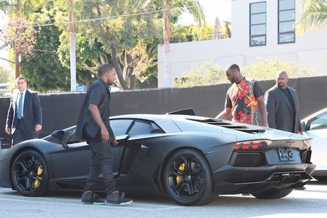 Kanye West's Lamborghini Aventador LP 700-4