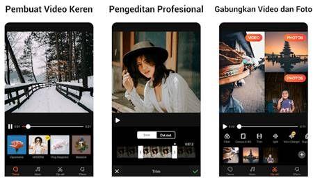 10 Aplikasi Edit Video Android Terbaik Tanpa Watermark Android Video Bokeh