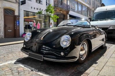 Porsche 356 Speedster Puzzle In Cars Bikes Jigsaw Puzzles On Thejigsawpuzzles Com Play Full Screen Enjoy Pu Porsche 356 Speedster Porsche 356 356 Speedster