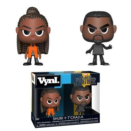 Funko Vynl - Black Panther - T'Challa & Shuri