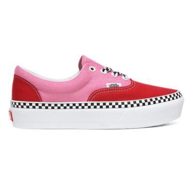 vans scarpe donna rosse