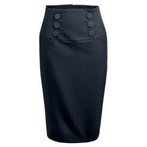 0b5f94711 Modelos de faldas rectas largas | Clothes *_* | Faldas rectas, Falda ...