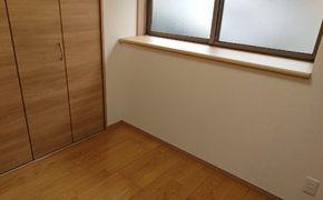 床の高さを合わせるため 床 下地も一から作りました 姫路市 I様邸