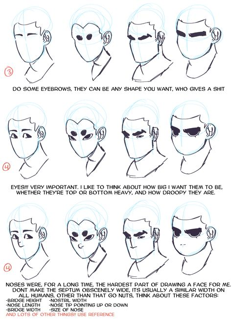 I really love your artstyle! Could I maybe get some tips on how to give variety to faces? My style has a little same face syndrome unfortunately. Drawing Techniques, Drawing Tips, Drawing Expressions, Poses References, Digital Art Tutorial, Drawing Reference Poses, Art Poses, Anatomy Art, Drawing Practice