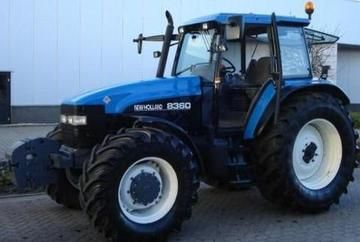 Ford New Holland 8360 Tractor Master Illustrated Parts List Manual