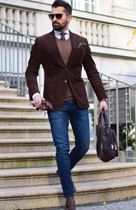 Business Casual Outfit Ideas For The Week Ahead – Men's style, accessories, mens fashion trends 2020 Best Winter Outfits Men, Men Winter Fashion, Summer Outfits, Fall Outfits, Smart Casual Work Outfit, Casual Office, Casual Dressy, Dressy Outfits, Work Outfits