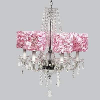 Jubilee Collection Middleton 6 Light Shaded Chandelier