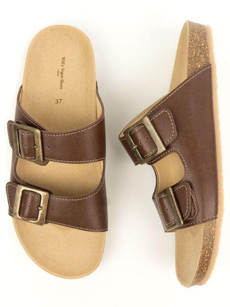Will S Vegan Shop Zwei Riemen Sandalen Mit Fussbett Damen Vegane Schuhe Sandalen Und Schwarze Chelseaboots