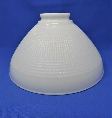 Ad Ebay Url Vintage Corning Glass Waffle Torchiere Diffuser 10 Lamp Shade 82416 White In 2020 Corning Glass Torchiere Lamp Shade Lamp Shade
