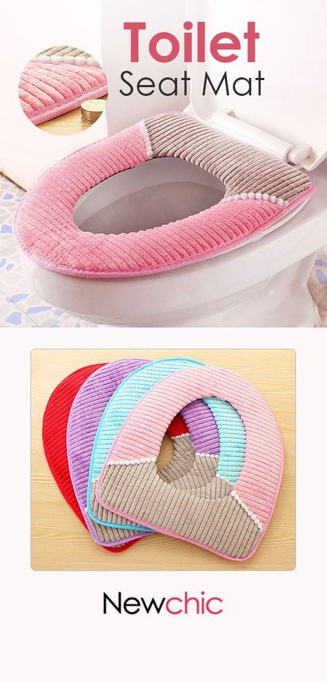 Wondrous Us 6 45Warmer Fleece Winter Toilet Seat Cover Waterproof Inzonedesignstudio Interior Chair Design Inzonedesignstudiocom