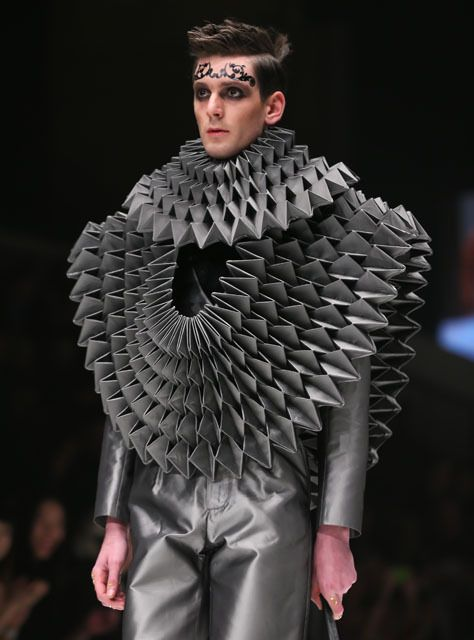 Wgsn Australian Design Student Jung Hong From The Royal Geometric Fashion Textiles Fashion Fashion
