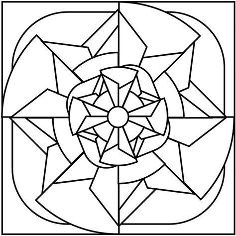 Mosaicos Para Colorir Atividades De Arte Desenho De Mosaico
