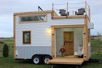 Pic 014 Tiny Mobile House Small Tiny House Tiny House Trailer