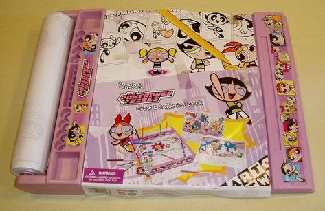 880bc2df5f The Powerpuff Girls Draw & Color Portable Roller Art Desk - My Web Yard
