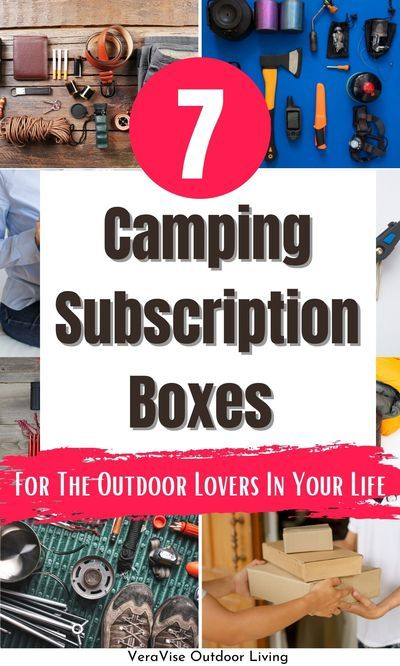 Do you love getting something in the mail? We do! That's why we love these fun camping subscription boxes from Cratejoy that every camper must try.