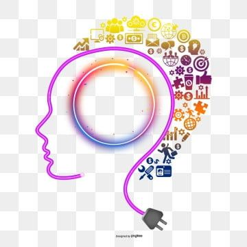 Professor Of Thinking Thinking Free Pull Think Png And Vector With Transparent Background For Free Download Brain Vector Divergent Thinking Brain Logo